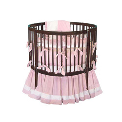 Round Spindle Crib