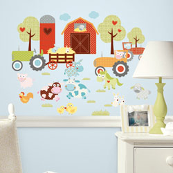 Barnyard Wall Decal
