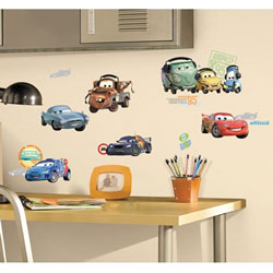 Cars 2 Wall Decals
