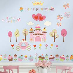 Cupcake Land Wall Decal