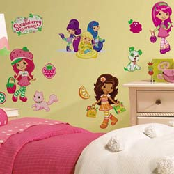 Strawberry Shortcake Wall Decal