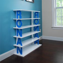 Personalized Kids Bookshelf