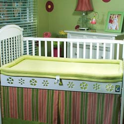 Breathable Crib Mattress and Bumper