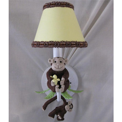 Monkey Business Sconce