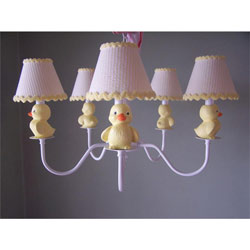 Rubber Duckie Chandelier