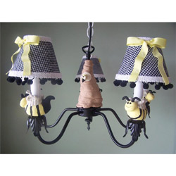 Bee My Baby Chandelier