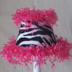 Funky Fluffy Zebra Nightlight