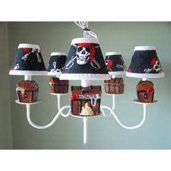 Pirate's Treasure Chandelier
