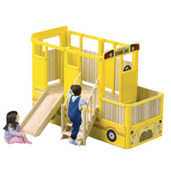 School Bus Vehicle Playtime Loft