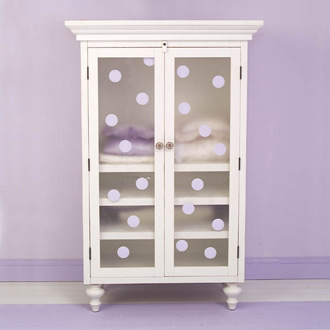Classic Scroll Armoire