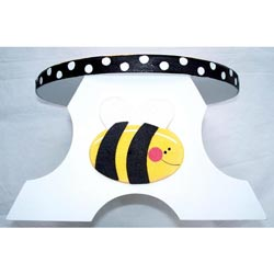 Personalized Bumble Bee Step Stool
