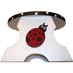 Personalized Ladybug Step Stool