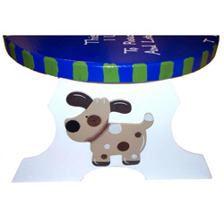 Personalized Puppy Dog Step Stool