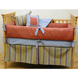 Ship Ahoy Crib Bedding