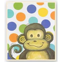 Monkey Dots Artwork