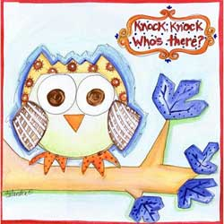 Knock Knock Owl Artwork