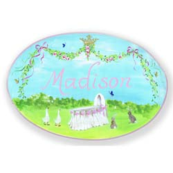 Baby Celebration Name Plaque