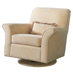 Upholstered Corded Glider