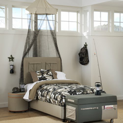 Cargo Upholstered Bed