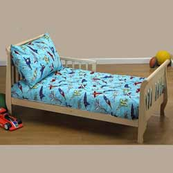 Sky Diving Planes Toddler Bedding