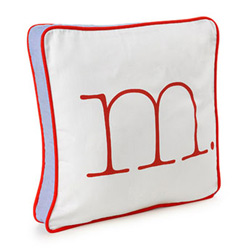 Decorative Letter Pillow