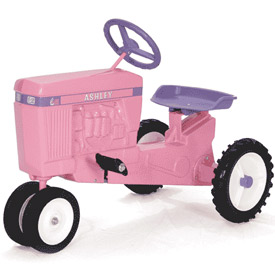 Pink Personalized Pedal Tractor