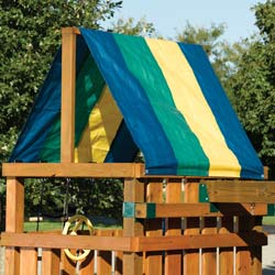 Multi-Color Tarp for Playdeck