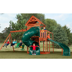 Grandview Twist Swing Set