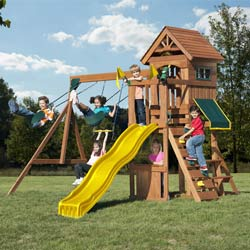Jamboree Fort Swing Set