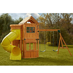 Oakmont Complete Wooden Play Set