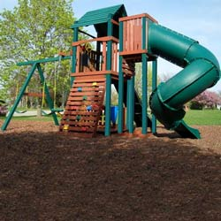 Soaring Summerville Twist Swing Set