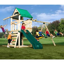 Ultimate Creekside Swing Set