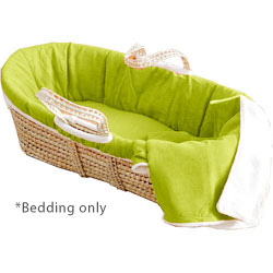 Sherpa Suede Moses Basket Bedding