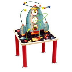 Space Shuttle Roller Coaster Table