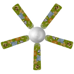 Jungle Animals Ceiling Fan