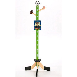 All Star Sports Cloth Stand/Growth Chart