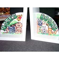 Personalized Forest Friends Bookends