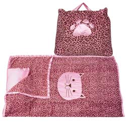 Cheetah Pink Nap Bag