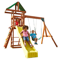 The Scrambler Swing Set