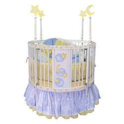 Star Light Round Crib