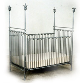 High Post Iron Dream Baby Crib