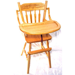 Acorn Wooden Highchair