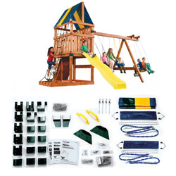 Alpine Swing Set Hardware Kit- Project 611