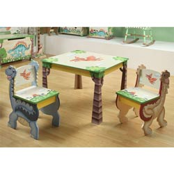 Dinosaur Kingdom Table and Chair Set