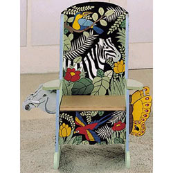Handpainted Jungle Potty Chair