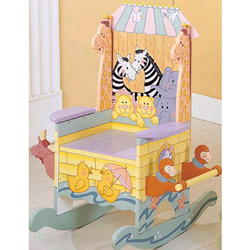 Handpainted Noah's Ark Potty Chair