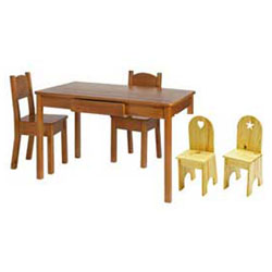 Arts and Crafts Table and Chair Set