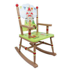 Knights and Dragons Rocking Chair