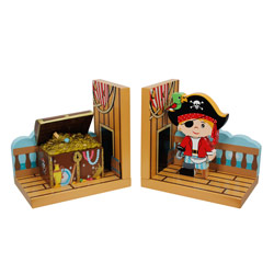 Pirate Island Bookends