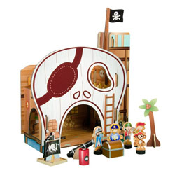 Pirate Table Top Play Set